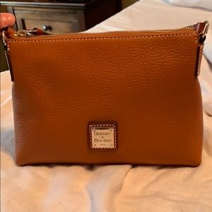 Dooney and bourke pebble leather pouchette